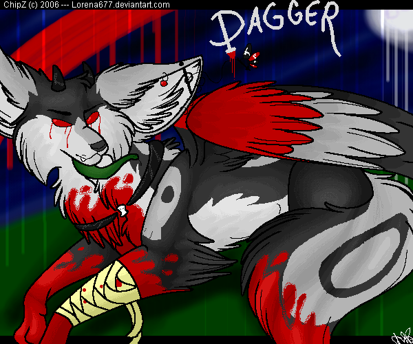 .:Dagger in the Moonlight:. by Lorena677