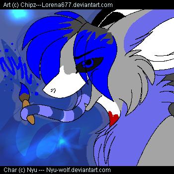 Spam trade: Nyu-wolf by Lorena677