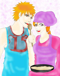 Collab:IchiHime Baking by MadeInHeavenFF15