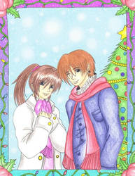 Steve And Claire Winter Time by MadeInHeavenFF15