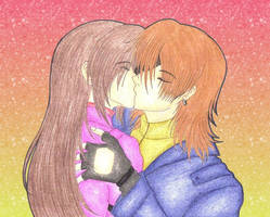 Steve And Claire Kiss by MadeInHeavenFF15
