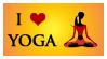 Yoga Stamp by JewelOfSong