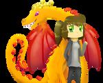 Niki and Dragon.