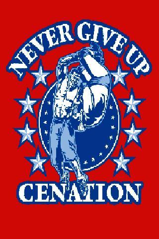 John Cena Never Give Up Rally Towel Wrestling Entrance ...  |John Cena Logo Never Give Up 2014