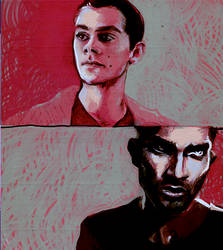 stiles + derek by rad-i-cal