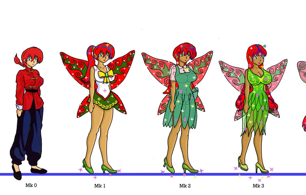 Windborne: Ranma turning more Titania by sunny-temple