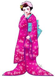 Ranma Maiko Version  By  LaraCaroline by sunny-temple