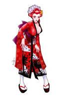 Ranma Geisha By LaraCaroline by sunny-temple