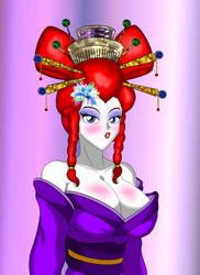 Geisha Ranma 2 By Nekohybrid by sunny-temple