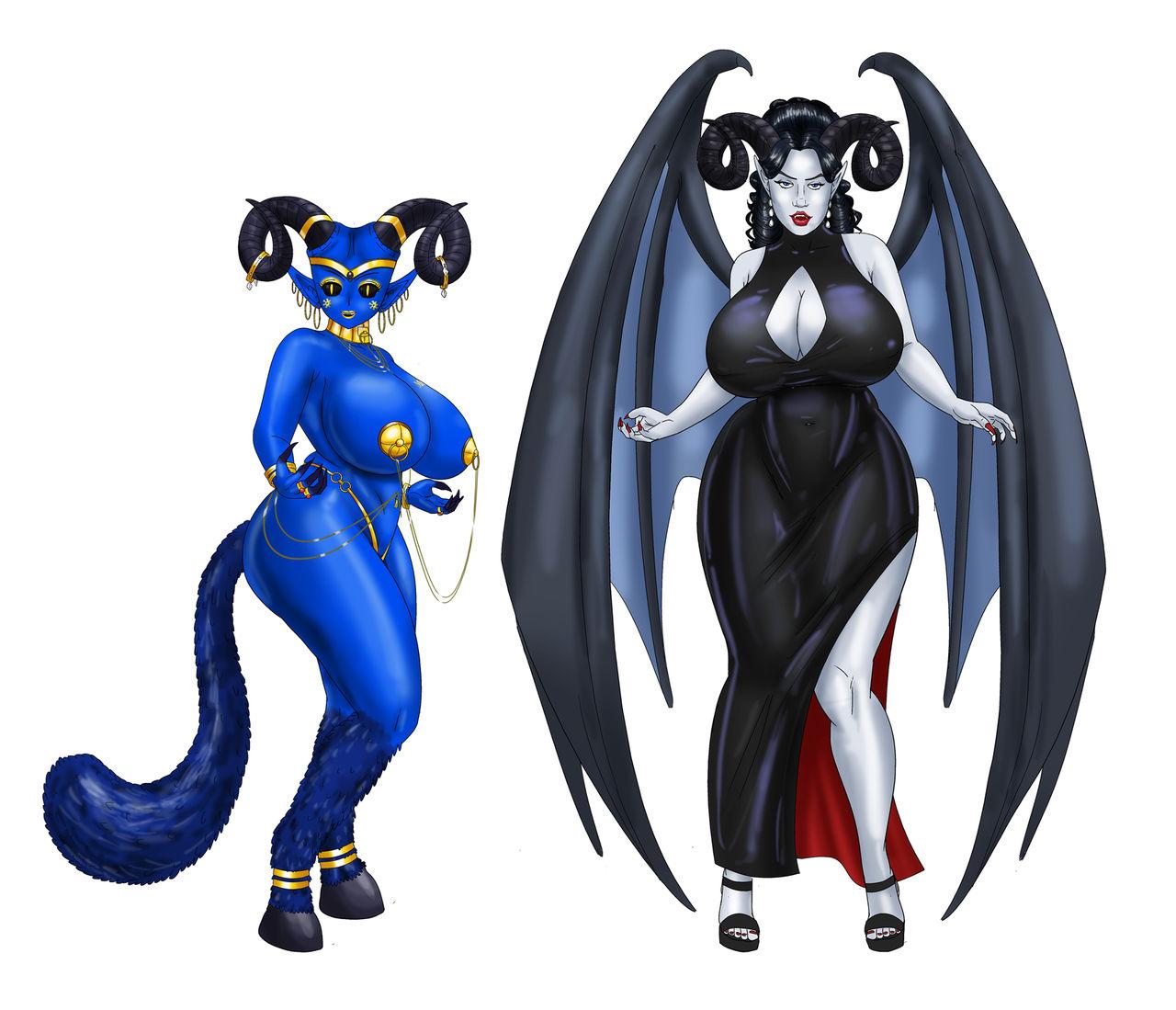 The Return Saphira and BlackSky By SaturnXart
