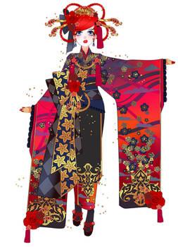 Secret Flowers: Geish- Maiko Ranma By Minnoux