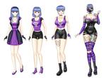 AITDW Punk Queen Shinju (all) By Saturnxart