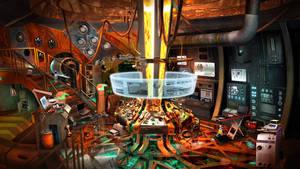 Shee Noire - generator room