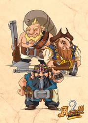 Arrr!!! - Dwarven buccaneers