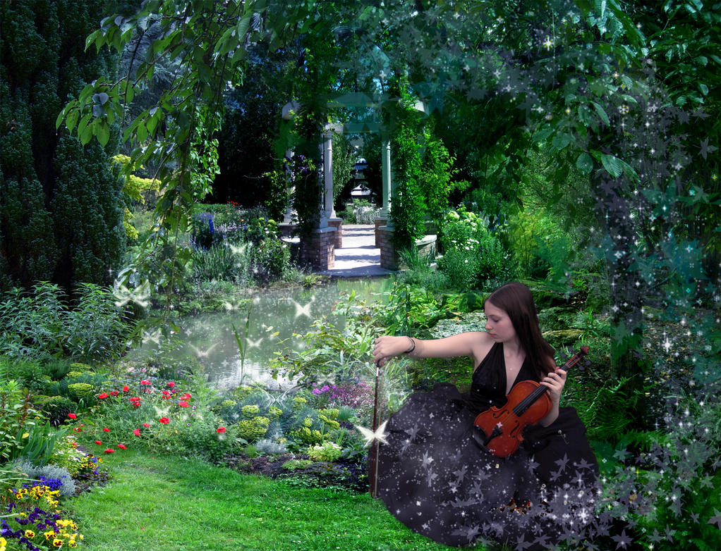 My secret garden by morgannatorok on deviantart for Landscape my garden