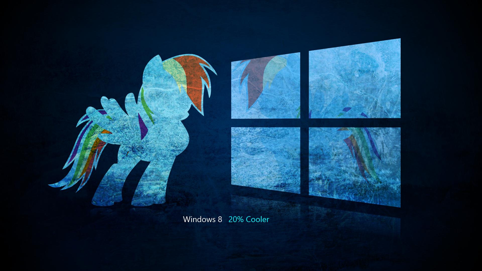 Rainbow Dash Windows 8 Wallpaper by BlaqKrown on DeviantArt
