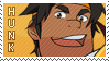 Voltron: Hunk Stamp by lava-java