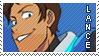 Voltron: Lance Stamp by cafe-araignee