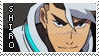 Voltron: Shiro Stamp by lava-java