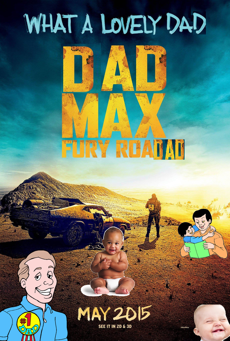 Dad Max by Shnurbinator