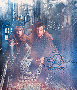 Doctor and Donna by Destroyskaya