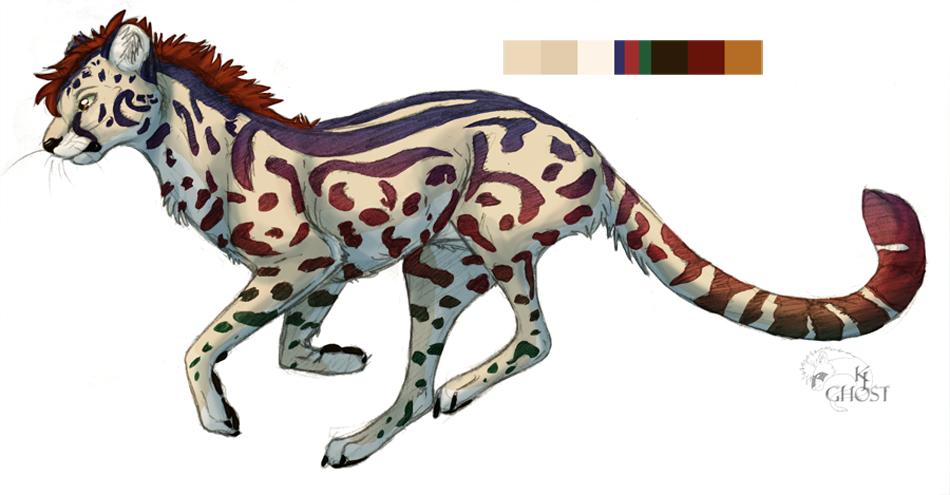 King Cheetah Adoptable By Khanasghost On Deviantart