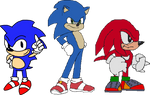 Current Movie Sonic and S3Proto's SoniKnux