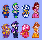 SMB2 USA has now 8 players Size 10x (Ruensor and D