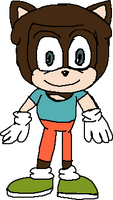 Jared Garfield, he is in Species Style of Sonic th