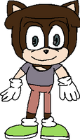 Beckham York, he is in Species Style of Sonic the