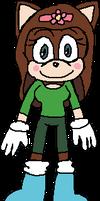 Julissa Stewart, she is in Species Style of Sonic