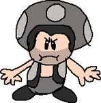 GTA V Michael in Toad-Species Style of Super Mario