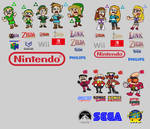 Links, Zeldas, Robotnik Eggmans, - Who are you