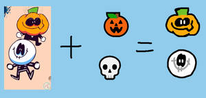 Skid and Pump (Spooky Month) + Microsoft Skull and