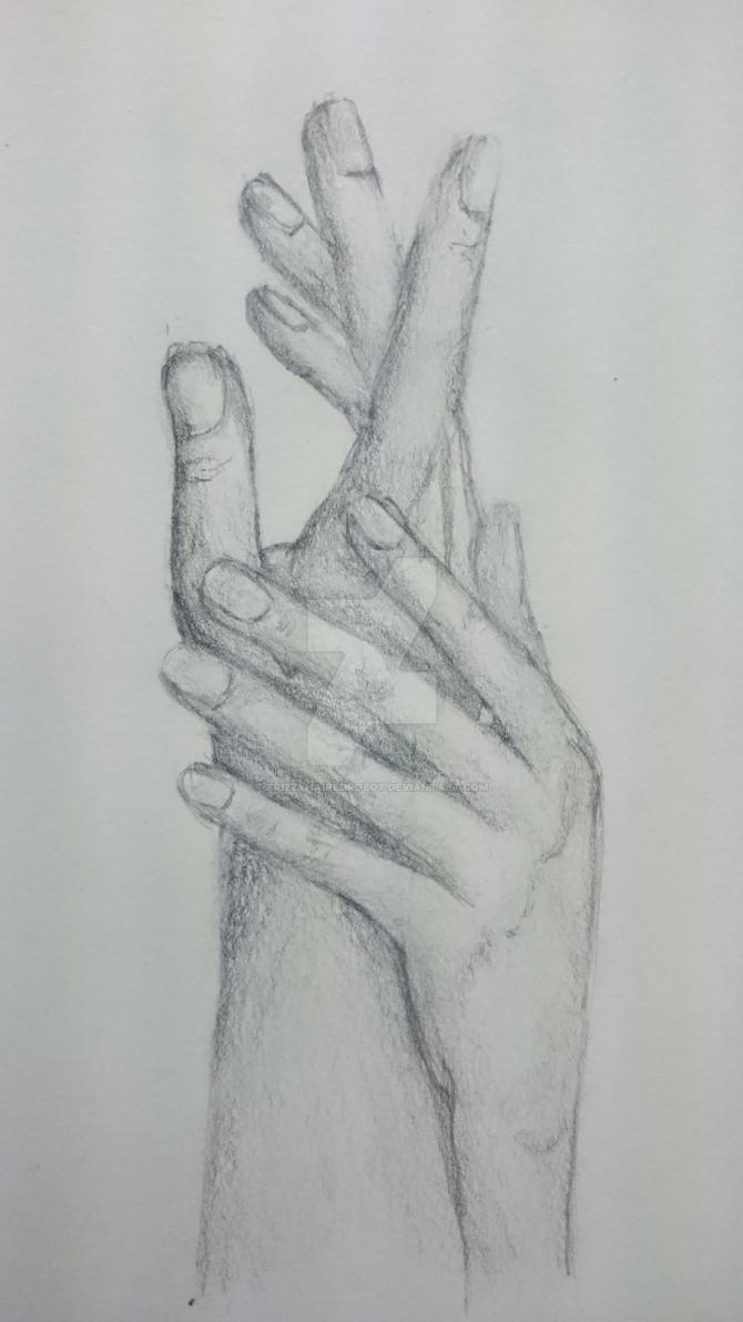 hands [graphite] by frizzyhairedrobot