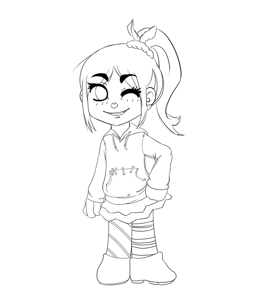 wreck it ralph vanellope coloring pages - wreck it ralph sugar rush racers coloring pages