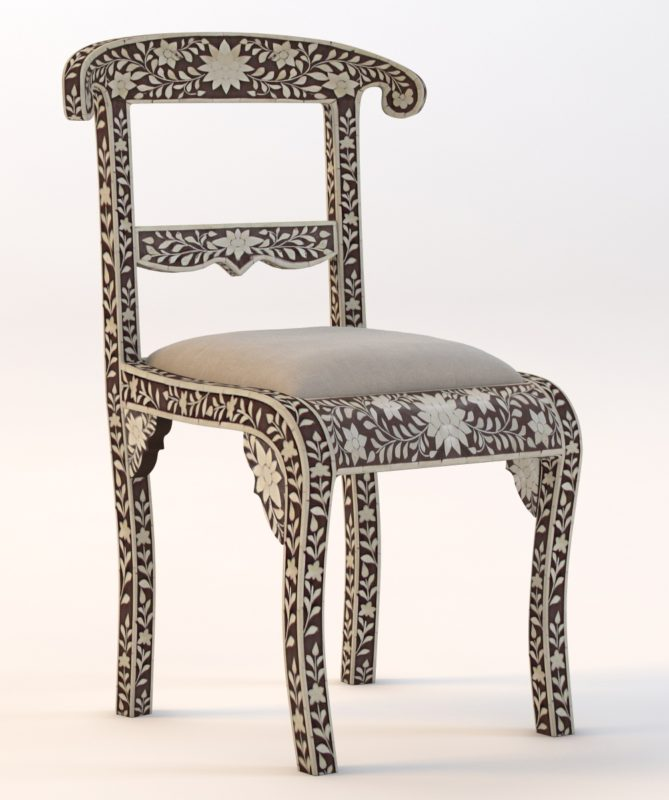 Bone Inlay Chair By Masumon ...