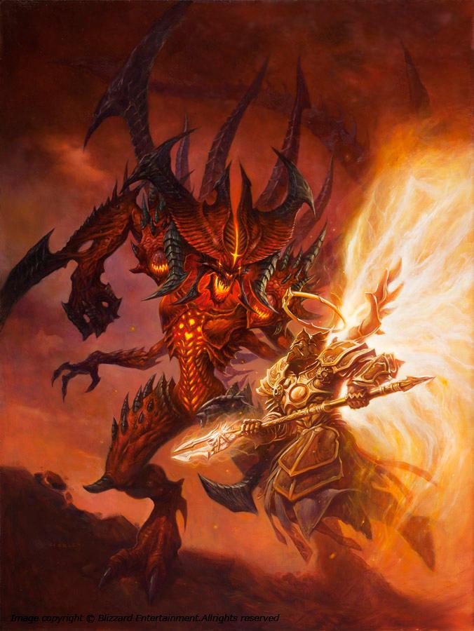 Diablo VS Imperius by AlexHorley