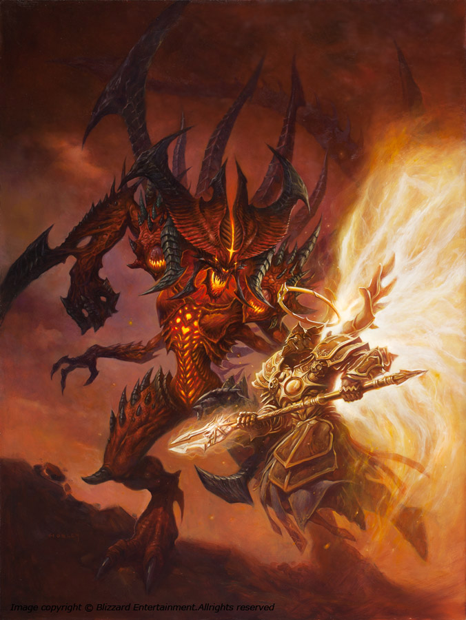 Diablo VS Imperius by AlexHorley