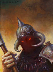 Death Dealer closeup by AlexHorley