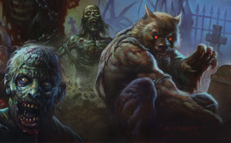 Spookshow Detail by AlexHorley