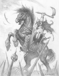 Death Dealer Study by AlexHorley
