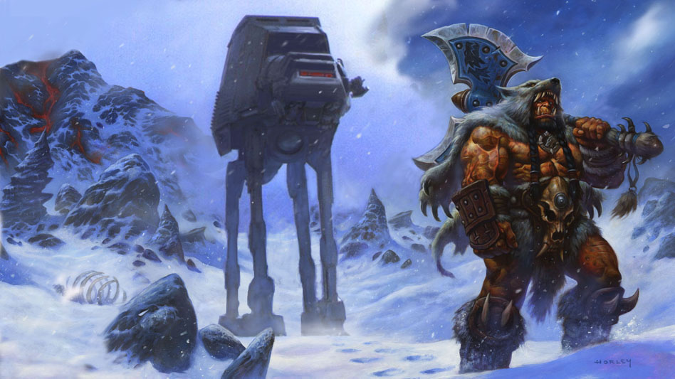 I told'em this is the wrong planet... by AlexHorley