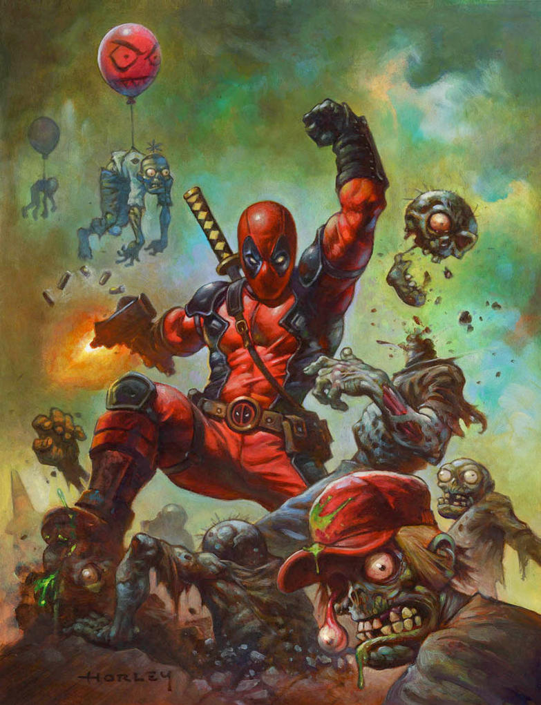 Deadpool by AlexHorley