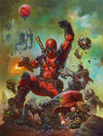Deadpool by AlexHorley