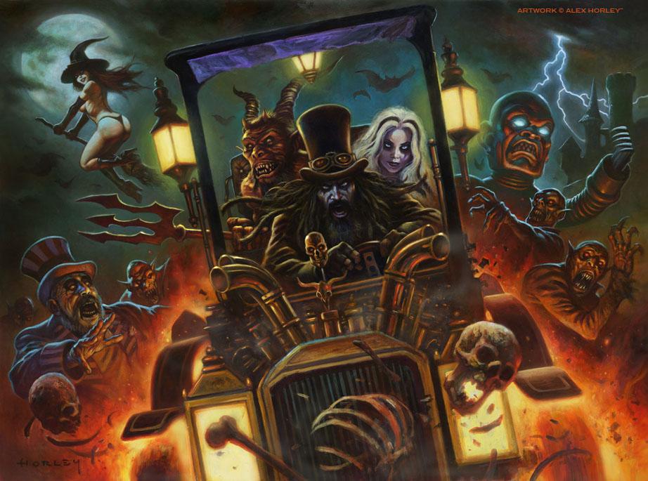 Rob Zombie S Dragula Car