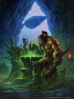 Grom and Gul'dan by AlexHorley