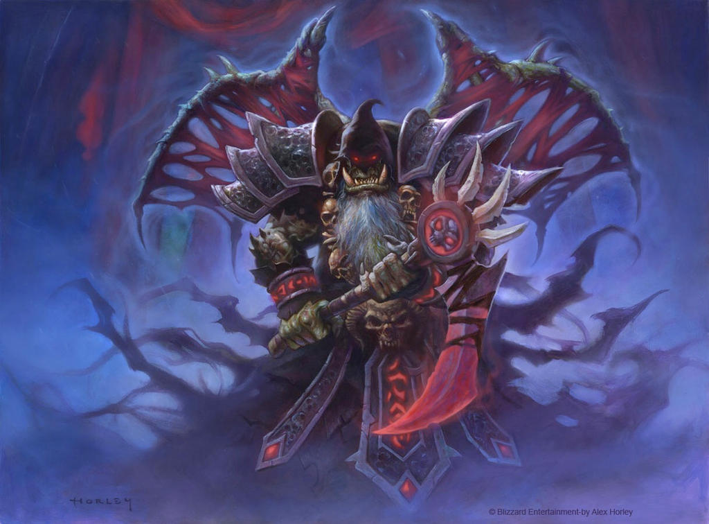 Bloodreaver Guldan by AlexHorley