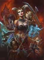 Flesh Faction by AlexHorley