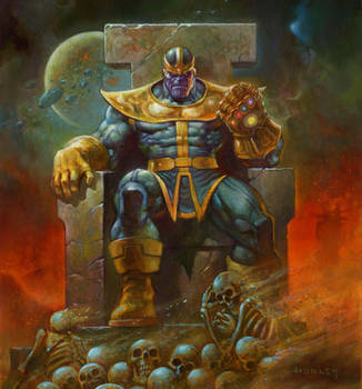 Thanos by AlexHorley
